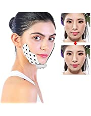 Elektrische V-face Shaping Thin Face Patch Mini Silicone Facial Massage Patch Chin Lift Slimming Patch Aanscherping Verstevigend gezicht Double Chin Remover