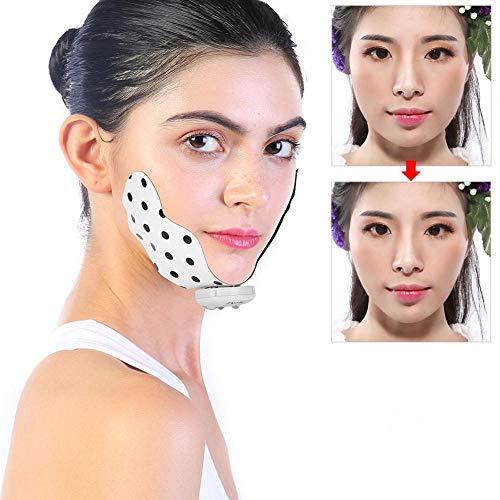 Parche de cara delgada con forma de V eléctrica Parche de masaje...