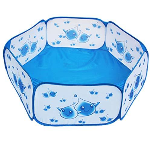 Fenteer Piscine à Balles pour Enfants Tente pour Enfant Pliable Portable Hexagonal