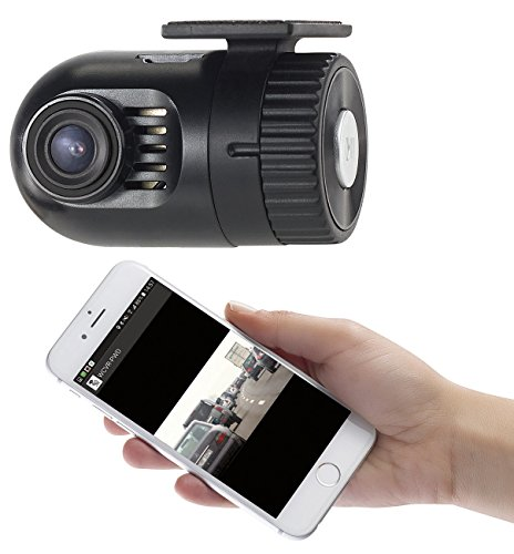 NavGear Dashcam kabellos: Mini-HD-Dashcam MDV-1600.av mit G-Sensor, WLAN und Smartphone-App (Minidashcam)