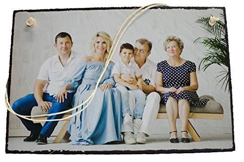 wandmotiv24 Su Foto en Placa de Pizarra para Colgar - 1 Parte - Formato Horizontal 30x20cm (WxH), Vista PREVIA EN LÍNEA INSTANTÁNEA, Imagen sobre Piedra, Pizarra Personalizada Foto Regalos, Presente