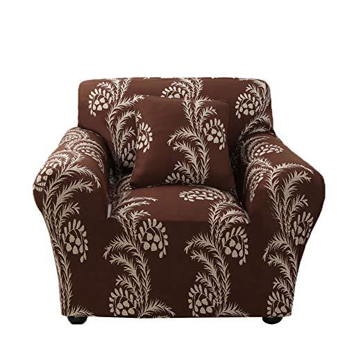 GLLMY Fundas de sofá para decoración del hogar, tela de poliéster jacquard de alta elasticidad, antideslizante, lavable a máquina, funda de sofá para familias y propietarios de mascotas