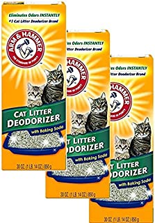 Arm & Hammer Multiple Cat Litter Deodorizer with Baking Soda (3 Pack)