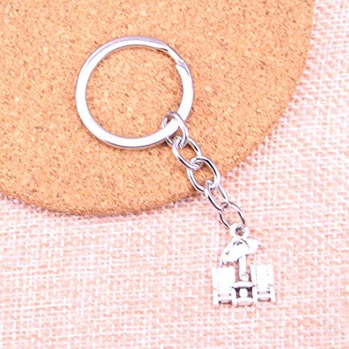 TAOZIAA strand paraplu bedelhanger sleutelhanger sleutelhanger ketting accessoires sieraden maken voor geschenken