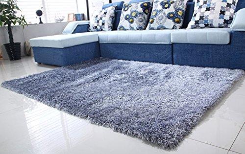 zhdc® Rechteckiger Teppich, Verschlüsselung dicker 5cm Teppich Lounge Schlafsofa Schlafcouch porte-chevet Weich und bequem, 4, 140 * 200cm