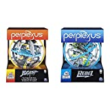 Spin Master Games 6053142 - Perplexus Beast, 3D-Labyrinth mit 100 Hindernissen & 6053147 - Perplexus Rebel, 3D-Labyrinth mit 70 Hindernissen