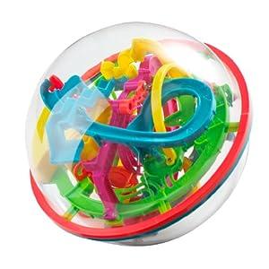 Addict-A-Ball 20 cm: Bringen Sie einen kleinen Ball durch das Labyrinth