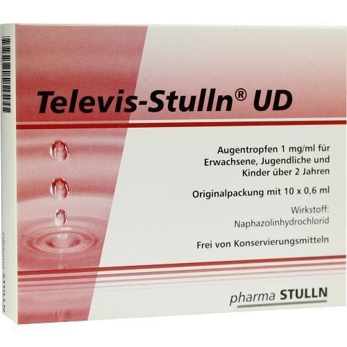 TELEVIS STULLN UD 10X0.6ml Augentropfen PZN:7750081