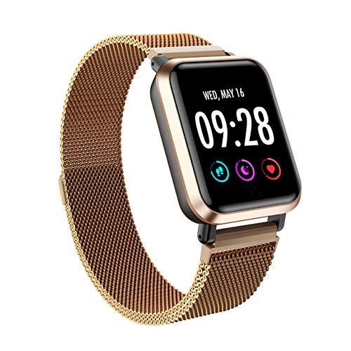 MOLINB Slim horloge Smart Watch Full Screen Touch smartwatch Heren Dames Sport Hartslagmeter Klok Slaapmonitoring voor IOS p70