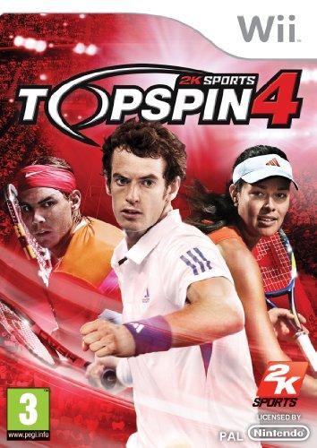 Top Spin 4 (Wii) [Importación inglesa]