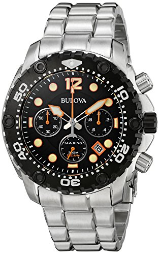 Bulova Men's 98B244 Sea King Analog Display Japanese Quartz...