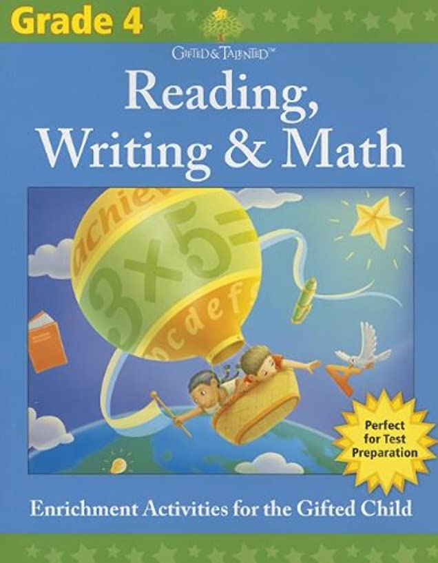 Gifted & Talented: Grade 4 Reading, Writing & Math (Flash Kids Gifted & Talented)
