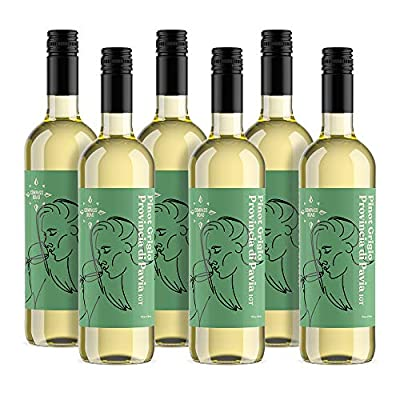 Amazon Brand - Compass Road White Wine Pinot Grigio, Italy (6 x 75cl)