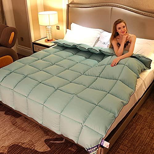 Cactuso edredon con Volantes,El algodón edredón está calentado por el Hotel.-Tinta_200x230 cm 2000g