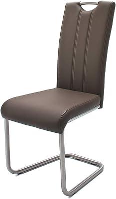 Schwingstuhl Esszimmerstuhl Freischwinger Freischwinger Schwingstuhl Esszimmerstuhl Küchenstuhl Idimex Idimex Küchenstuhl Nn80vmw