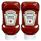 Concession Essentials Heinz Squeeze Bottles Ketchup, 20 Oz Squeeze Bottle, Pack of Two. Total 40 Ounces
