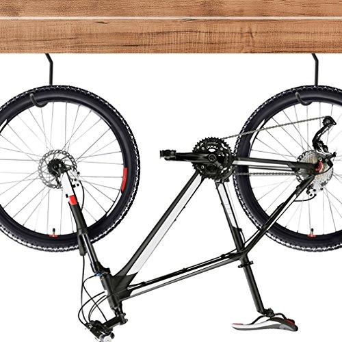 Luxebell 8 Stücke Fahrradhaken, Fahrradhalter geeignet vielseitig einsetzbar zum Aufhängen verschiedener Werkzeuge und Geräte, Belastbarkeit 60 lbs / 25 kg - 5