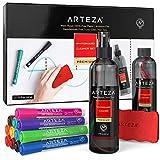 Arteza Whiteboard-Reinigungsset, 12 farbige Whiteboard Marker mit...