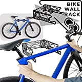 MEOLLO Soporte Colgador para Bicicleta (100% Acero) - Fabricado en España (2 X Blanco)