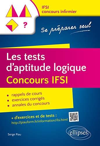 Les Tests d'Apitude Logique Concours IFSI Se Préparer Seul