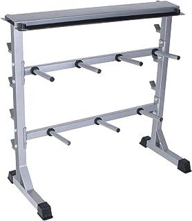 EEUK Hauteur R/églable Rack de Musculation Support de Barres Musculation pour La Musculation /à Domicile Barbell Support Rack Charge Max 260 Kg
