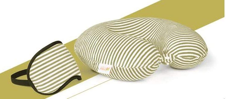 Oreiller de voyage pour voiture SoulageHommest de douleur d'oreiller de cou de voyage de mémoire de forme U de mémoire de fibre de polyester idéal pour la douleur de cou et les maux de tête