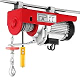 Electric hoist 230V, Electric wire rope hoist Electric hoist-hoist (1450W / 800kg)