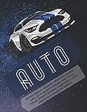 Grande libro da colorare per giovani bambini - Auto. Più di 100 auto: Citroen, Land Rover, Ferrari, Peugeot, Hyundai, Volkswagen e altri. Design da colorare per bambino