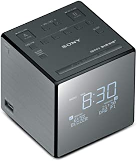Sony DAB+ Radio, Black (XDRC1DBP)