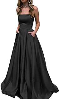 Best black strapless gown Reviews