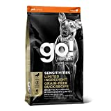 GO! SENSITIVITIESLimited Ingredient Grain Free Duck Recipe for Dogs (12 lb)