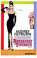 b直輸入、小ポスター、米国版「ティファニーで朝食を」オードリー・ヘップバーン、#6182
