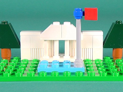 The White House Building Instructions with LEGO Classic 10698