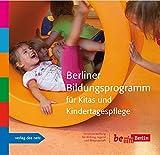 Berliner Bildungsprogramm für Kitas und Kindertagespflege - Jugend u. Sport Senatsverwaltung f. Bildung