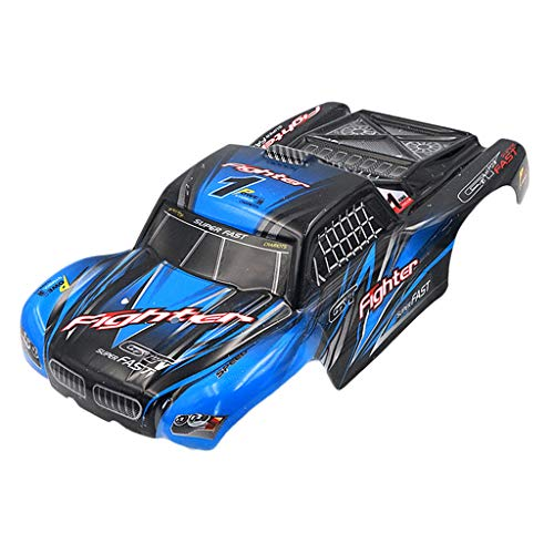LoveinDIY Premium Body Shell for 1:12 RC Car Painted Body Shell Frame for FY-CK01
