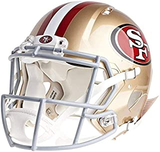 Riddell San Francisco 49ers Officially Licensed Speed Authentic Football Helmet