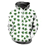 KVCHDX Green Leaf Kleidung Neuheit Streetwear Mit Kapuze Pullover Hoodies Unisex Tops Custom Hoodie Gym Kleidung Langarm -