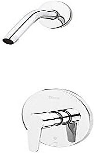 Pfister Pfirst Modern R890600 Polished Chrome 1-Handle Shower, Trim Only Less Showerhead