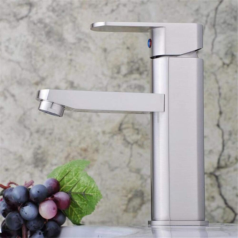 Basin Mixer Tap Kitchen Faucet Plumbing Single Hot and Cold Water Faucet Lift Basin Faucet