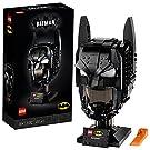 LEGO 76182 DC Batman: Cowl Mask Building Set for Adults, Collectible Superhero Helmet Gift Model