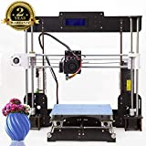 3D Drucker Desktop DIY 3D-Drucker Selbstmontage Prusa i3 Kit High Precision 3D Printer mit LCD Bildschirm-Tigtak(Plattformgröße 220 * 220 * 240)
