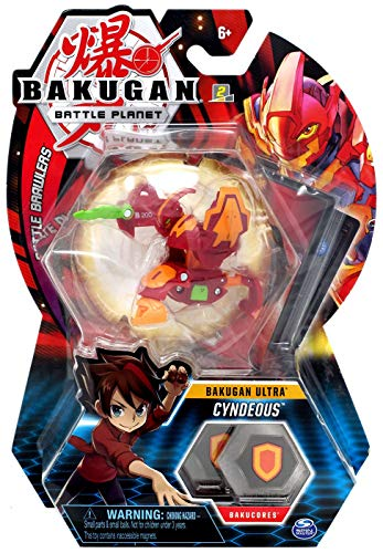 BAKUGAN Ultra, Cyndeous, 3-inch Tall Collectible Transforming Creature, for Ages 6 and Up