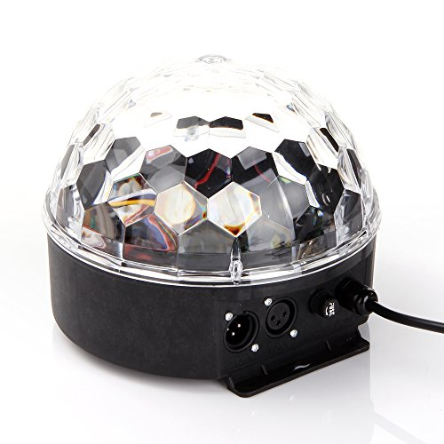 ANNT DMX512 RGB Disco Kugel Projektor LED