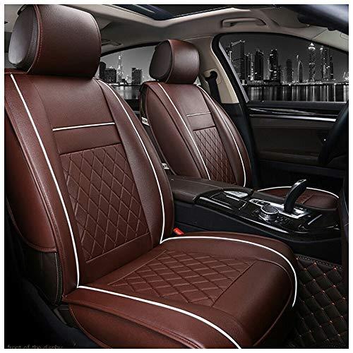 runnerequipment 9PCS//Set Beige Universal Car Fabric Seat Cover for Four Seasons
