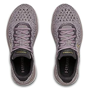 Under Armour womens Charged Impulse Knit Running Shoe, Slate Purple (500 White, 7.5 US