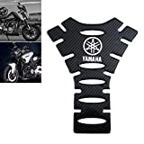 Universal Real Carbon Fiber Motorcycle Tank Pad Gas Oil Fuel Tank Pad Vinyl Decal Tank Protector Motorcycle Stickers For Yamaha All Models