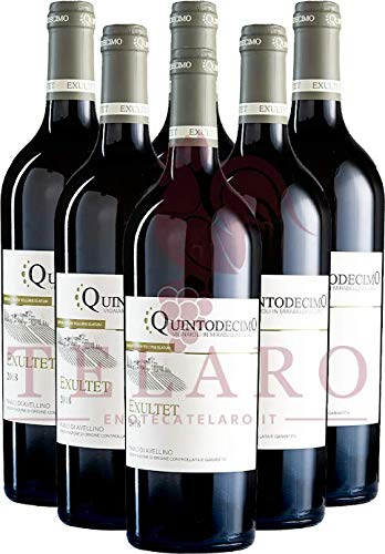Exultet Fiano DOCG Quintodecimo Promo Vino Bianco Campano Offerta 6 Bottiglie 2019