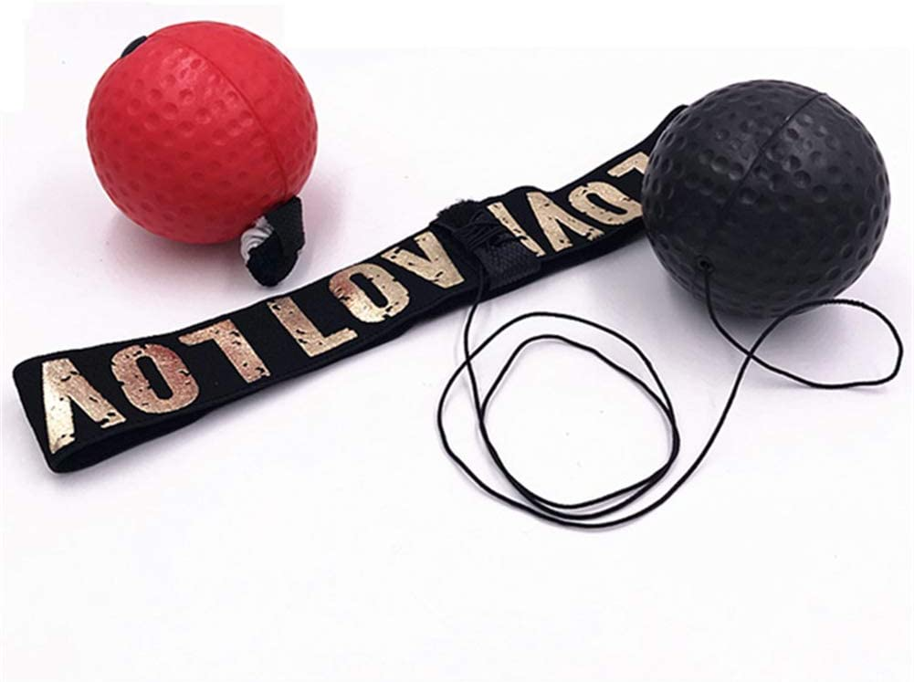 HEELPPO Boxing Reflex Ball Boxing Head Ball Boxing Equipments For Home Boxing Ball Reflex Ball Training Ball Boxing Fight Ball Reflex Boxing Training Equipment Reaction Ball Boxing