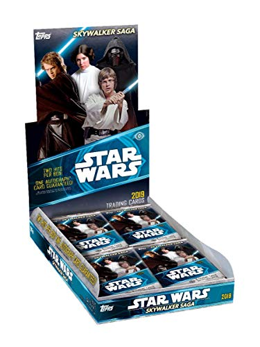 Topps - 2019 Star Wars Skywalker SAGA Sammelkarten, 1 Box