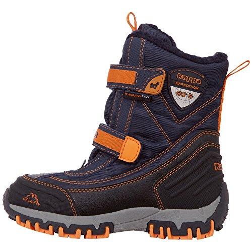 Kappa Unisex-Kinder Bento TEX Klassische Stiefel, Blau (Navy/Orange 6744), 37 EU